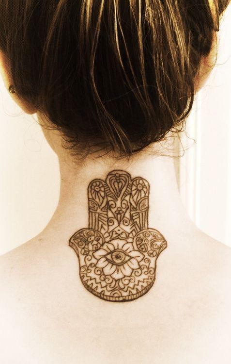 tatuaje mano de fatima